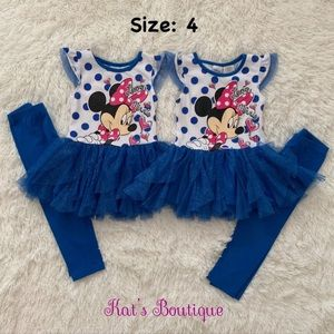 Disney Minnie Mouse (2) Outfit Sets